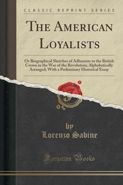 The American Loyalists, Sabine Lorenzo