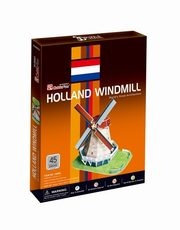 Puzzle 3D Holland Windmill,