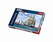 Puzzle Żaglowiec na tle Chicago 500,