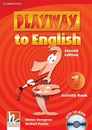 Playway to English  1 Activity Book + CD, Gerngross Gunter, Puchta Herbert