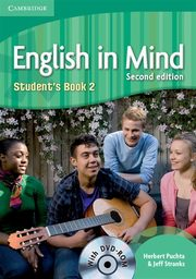English in Mind 2 Student's Book + DVD, Puchta Herbert, Stranks Jeff