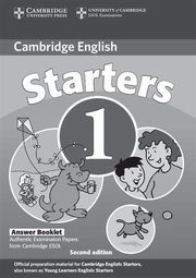 Cambridge Young Learners English Tests Starters 1 Answers Booklet,