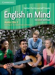 English in Mind 2 Audio 3CD, Puchta Herbert, Stranks Jeff