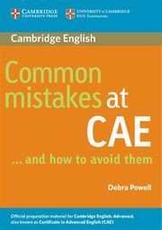Common Mistakes at CAE, Powell Debra