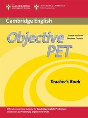 Objective PET Teacher's Book, Hashemi Louise, Thomas Barbara