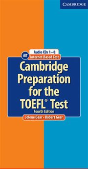 Cambridge Preparation for the TOEFL Test Audio 8CD, Gear Jolene, Gear Robert