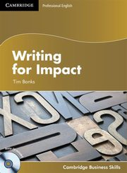 ksiazka tytuł: Writing for Impact Student's Book with Audio CD autor: Banks Tim