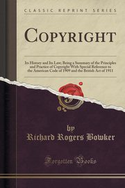 Copyright, Bowker Richard Rogers