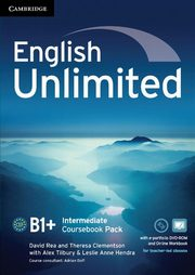 English Unlimited Intermediate Coursebook with e-Portfolio DVD-ROM, Alex Tilbury, Theresa Clement