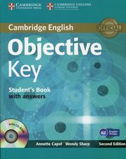 Objective Key A2 Student's Book with answers + CD, Capel Annette, Sharp Wendy
