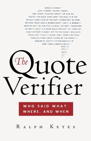 The Quote Verifier, Keyes Ralph