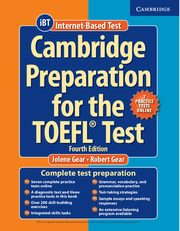 Cambridge Preparation for the TOEFL Test Book with Online Practice Tests and Audio CDs (8) Pack, Gear Jolene, Gear Robert