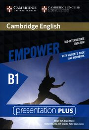 Cambridge English Empower Pre-intermediate Presentation Plus with Student's Book and Workbook, Puchta Herbert, Stranks Jeff, Lewis-Jones Peter, Doff Adrian, Thaine Craig