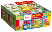 Ludattica My farm Educational games, LISCIANI