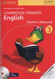 Cambridge Primary English Teacher?s Resource 3 + CD, Budgell Gill, Ruttle Kate