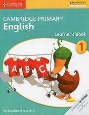 Cambridge Primary English Learner?s Book 1, Budgell Gill, Ruttle Kate
