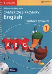 Cambridge Primary English Teacher?s Resource 1 + CD, Budgell Gill, Ruttle Kate