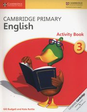 Cambridge Primary English Activity Book 3, Budgell Gill, Ruttle Kate