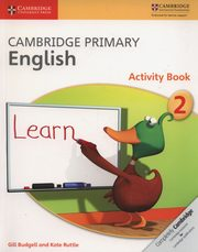 Cambridge Primary English Activity Book 2, Budgell Gill, Ruttle Kate