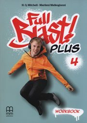 FULL BLAST PLUS 4 WORKBOOK (INCLUDES CD-ROM),