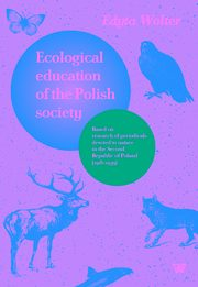 Ecological education of the Polish society, Wolter Edyta